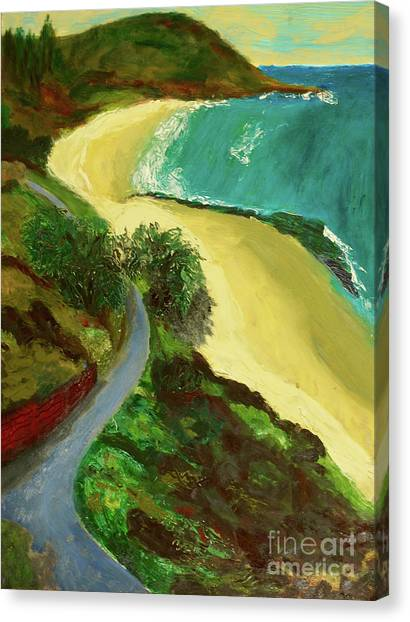 Shelly Beach Canvas Print