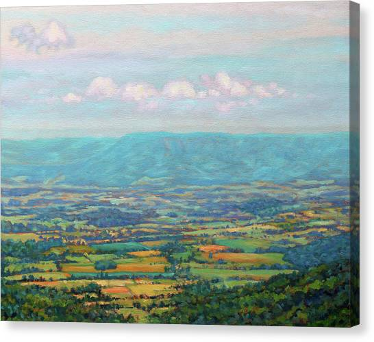 Shenandoah Blue Canvas Print