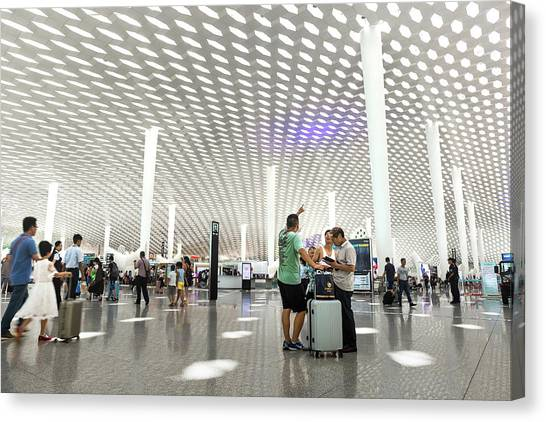 Shenzhen Airport Canvas Print