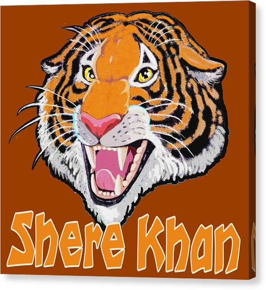 Shere Khan Canvas Print