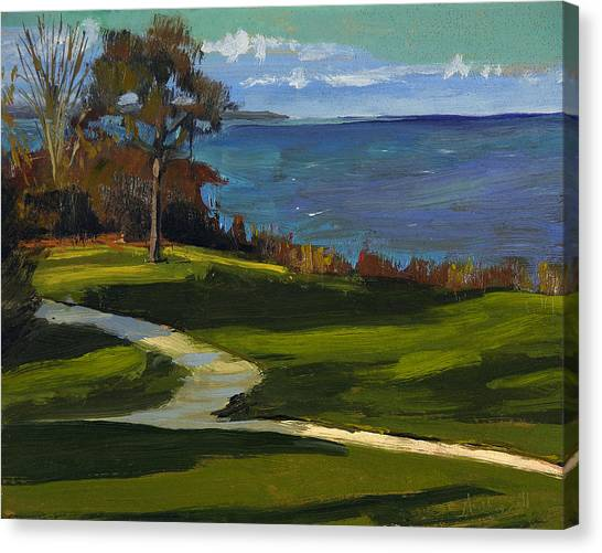 Sheridan Park No.5 Canvas Print by Anthony Sell