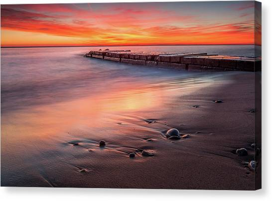 Sheridan Sunrise Canvas Print