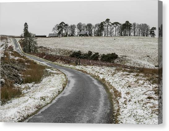 Sheriffmuir Road Canvas Print