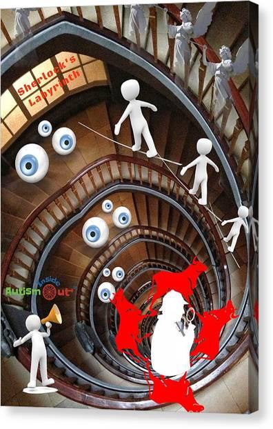 Sherlocks Labyrinth Canvas Print