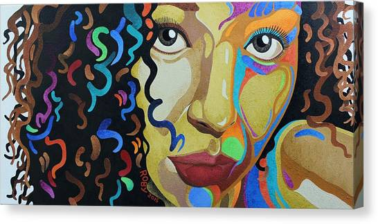 She's Complicated Canvas Print
