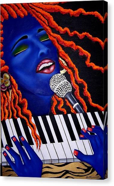 She's Magic Canvas Print by Nannette Harris
