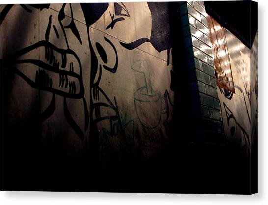 Shh Im Here Canvas Print by Jez C Self
