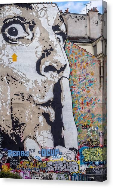 Shhhh Canvas Print