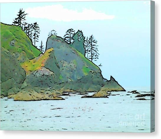 Shi Shi Beach Canvas Print