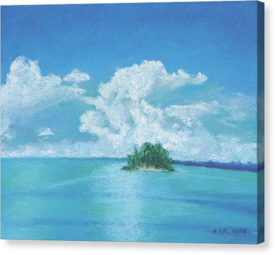 Shimmering Canvas Print