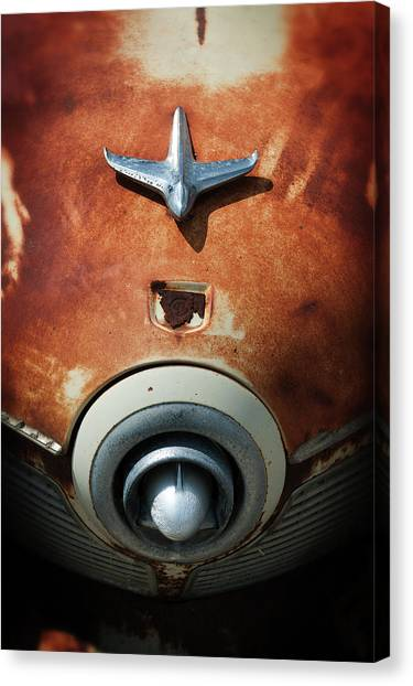 Shine Or Rust Canvas Print