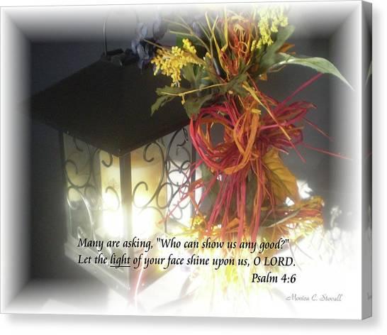 Shine Upon Us O Lord Canvas Print