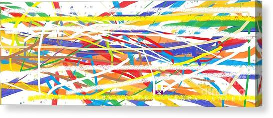Bullet Trains Canvas Print - Shinkansen Bullet Train by Tyyk
