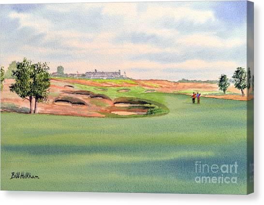 Shinnecock Hills Golf Course Canvas Print