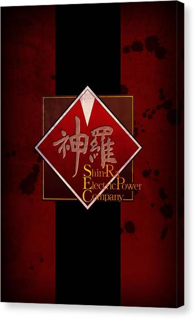 Final Fantasy Canvas Print - Shinra by MCAshe