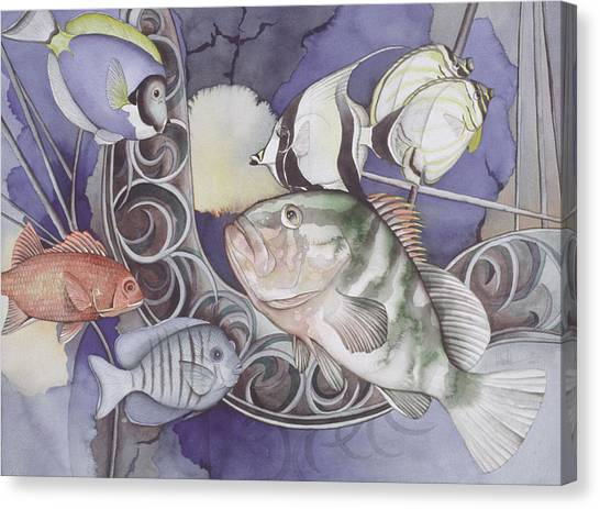 Ship Elements Canvas Print by Liduine Bekman