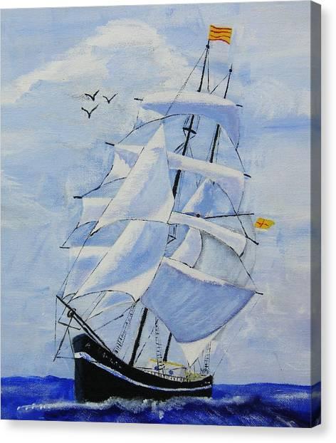 Ship It Canvas Print