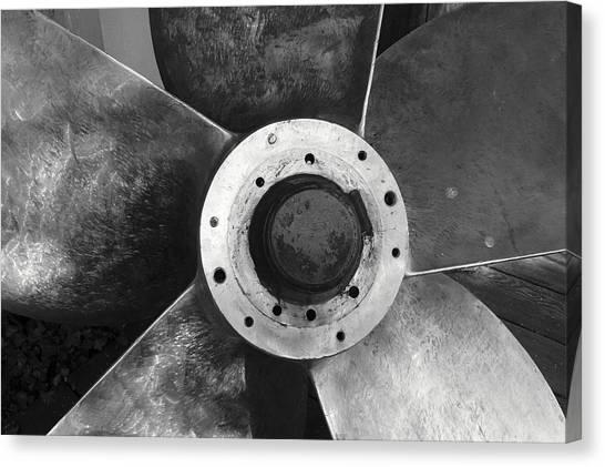 Ship Propeller  Canvas Print