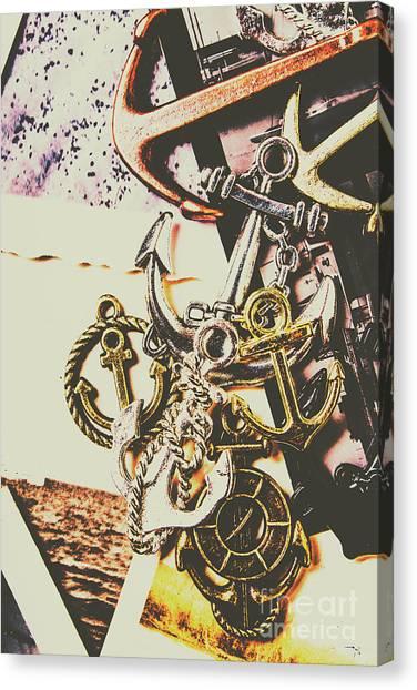 Maritime Canvas Print - Ship Shape Maritime Icons by Jorgo Photography - Wall Art Gallery