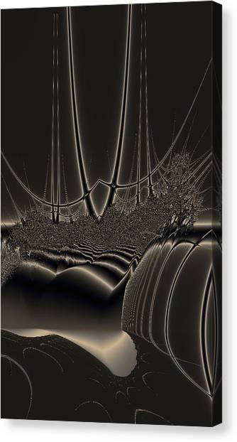 Ship Wreck Abstract Canvas Print