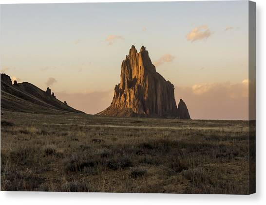Nm Canvas Print - Shiprock 2 - North West New Mexico by Brian Harig