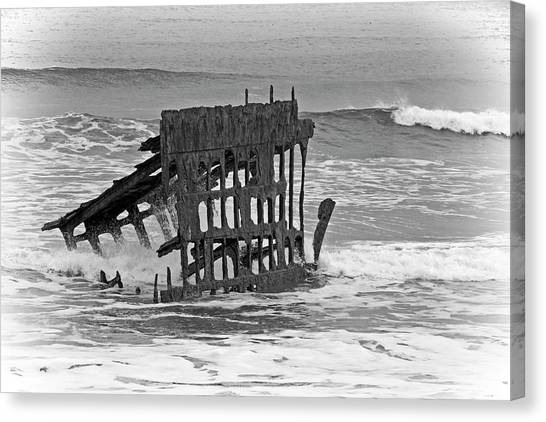 Peter Iredale Canvas Print - Shipwreck - 365-306 by Inge Riis McDonald