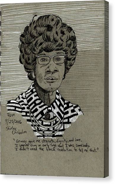 Shirley Chisholm Canvas Print