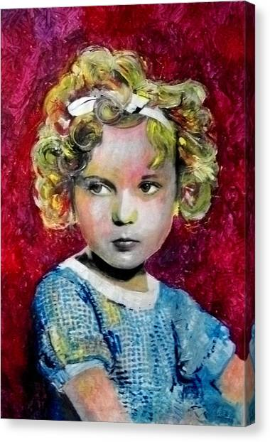 Shirley Temple Canvas Print - Shirley Temple by Marcelo Neira
