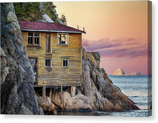 Shoe Cove Sunset Canvas Print