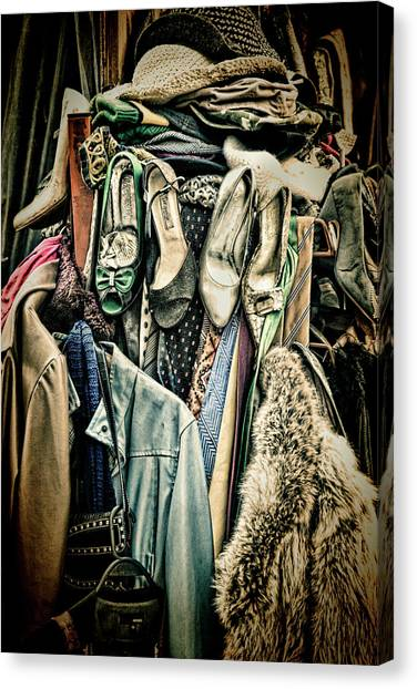 Fleas Canvas Print - Shoerack by Steve Payter