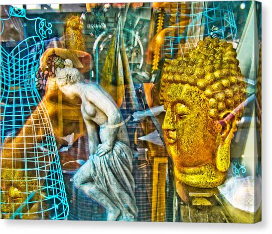 Shop Window 1 Canvas Print by Dan McCarthy