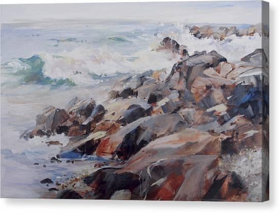 Shore's Rocky Canvas Print