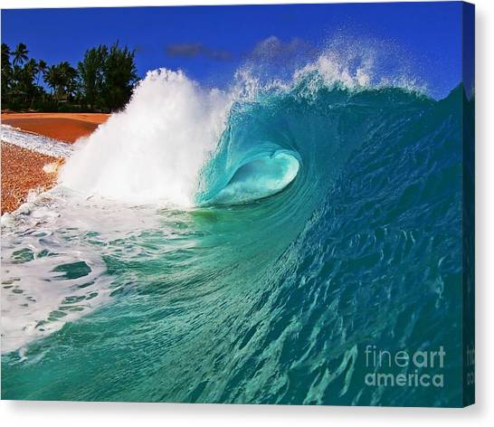 Shorebreaker Canvas Print