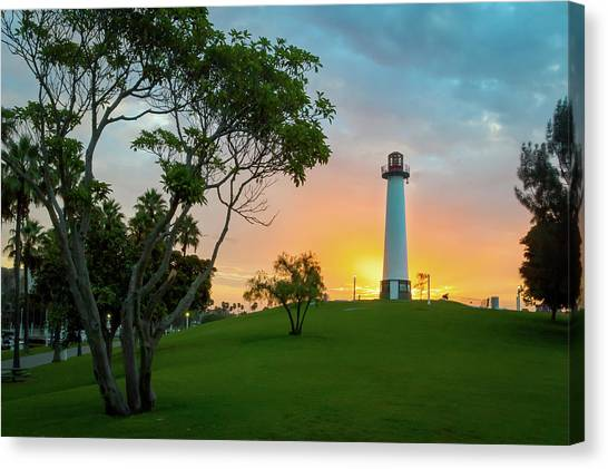 Shoreline Lighthouse Canvas Print