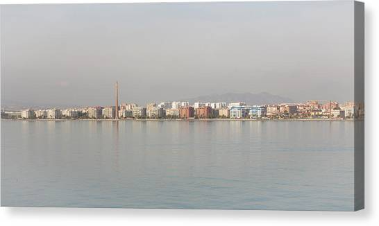 Shoreline Reflections Canvas Print
