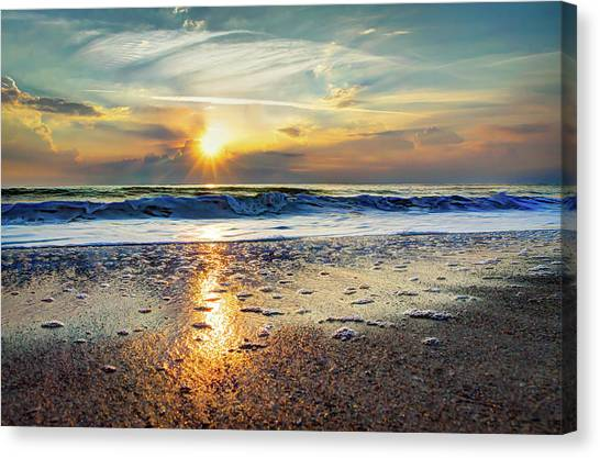 Shoreline Sunrise Canvas Print