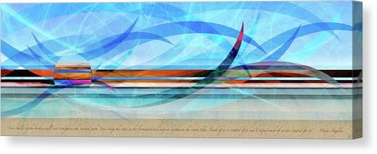 Shorelines Canvas Print