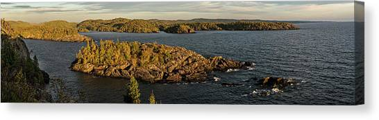 Shores Of Pukaskwa Canvas Print