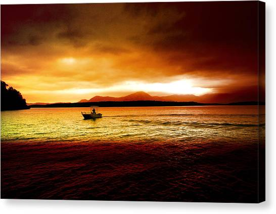 Shores Of The Soul Canvas Print