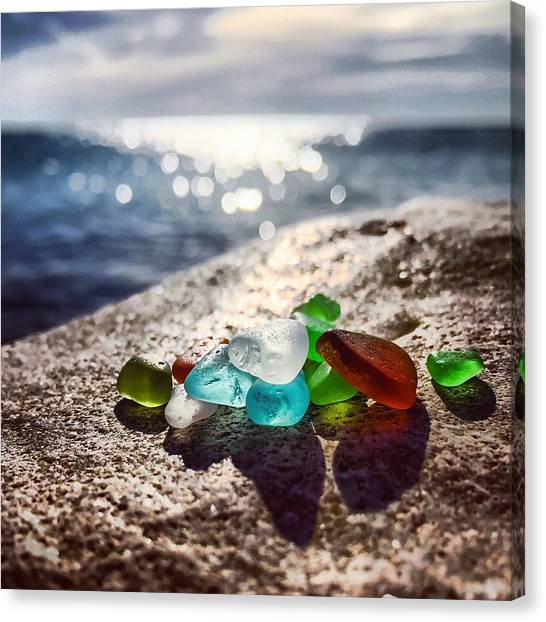 Shoreshine Canvas Print