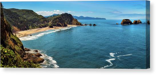 Short Beach, Oregon Canvas Print