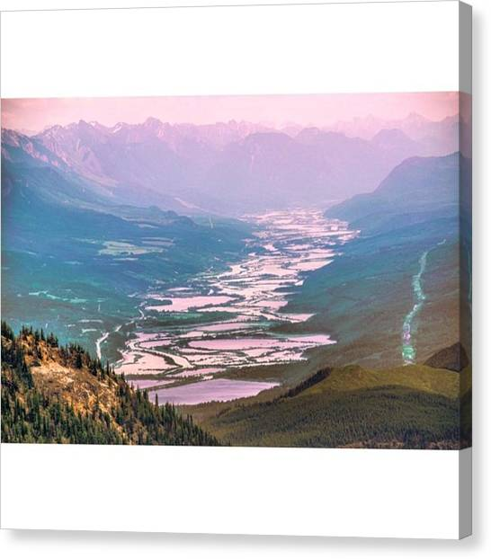 Scotty Canvas Print - Shot From Last Week, Rivers Running by Scotty Brown