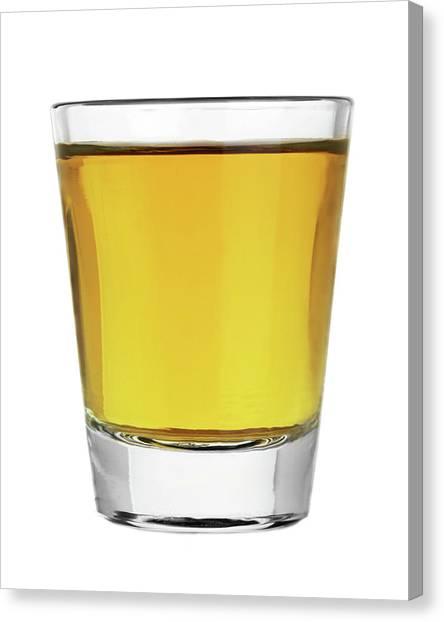 Distillery Canvas Print - Shot Of Whiskey by Jim Hughes