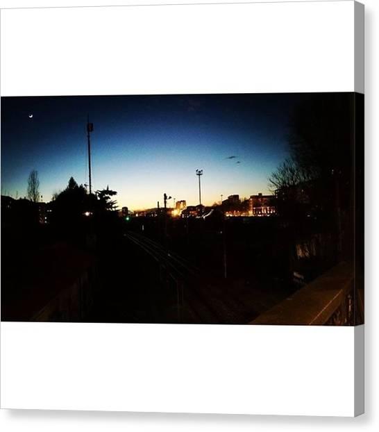 Venus Canvas Print - #shotbythewindow #landscape #skyscrape by Shot Bythewindow