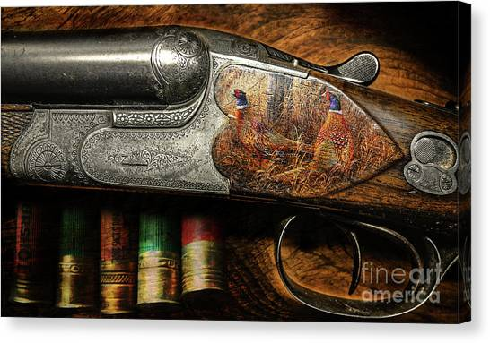 Shotgun  Canvas Print