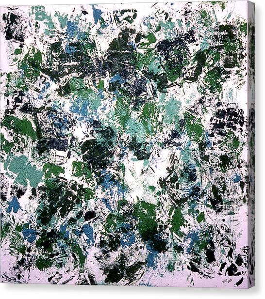 Shoulder Pads Canvas Print by Ken Yackel