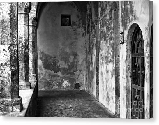 It Professional Canvas Print - Showing It's Age In Sorrento by John Rizzuto