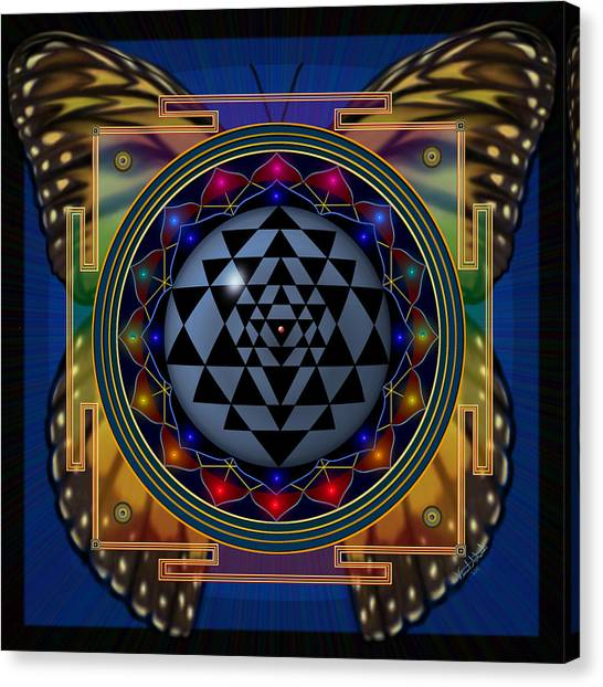 Shri Yantra 1 Canvas Print