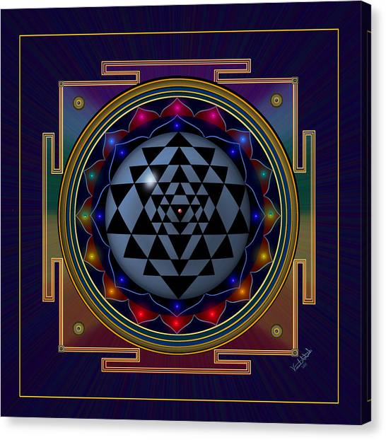 Shri Yantra Canvas Print
