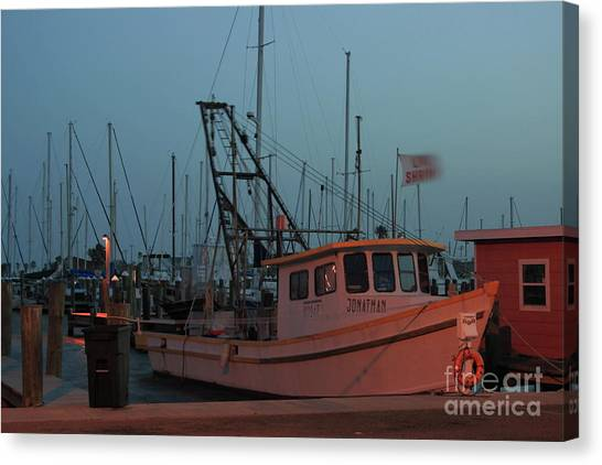 Shrimp Boat Canvas Print